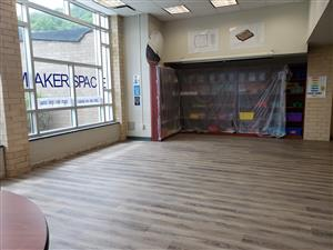 HS Makerspace Floor