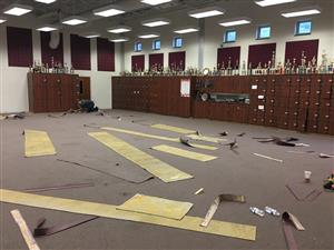 HS Music Room Before #2