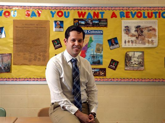 Jefferson educator named Outstanding History Teacher
