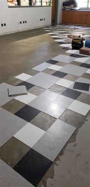 Stanlick Maker Space Flooring