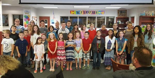 Student Artists of the Month Receive Honors