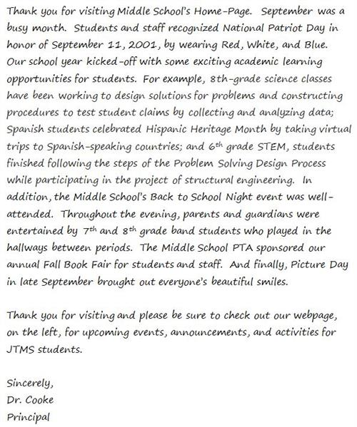 September School News