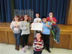 Battle of the Books champions!